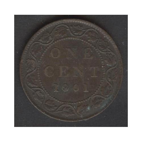 CANADA 1 Cent 1901