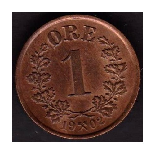 NORWAY 1 Ore 1902