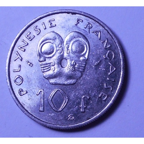 FRENCH POLYNESIA 10 Francs...