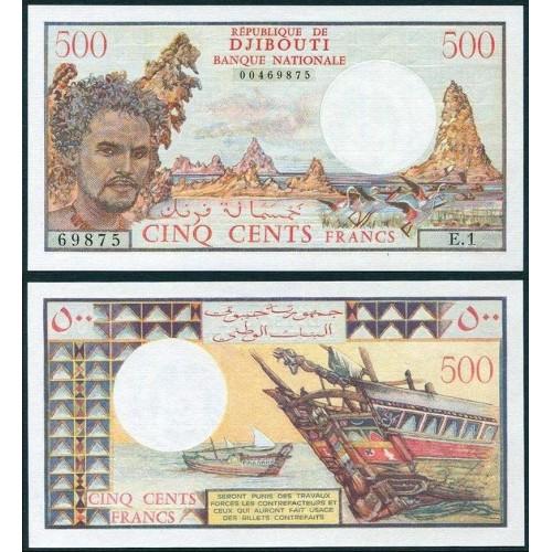 DJIBOUTI 500 Francs 1979
