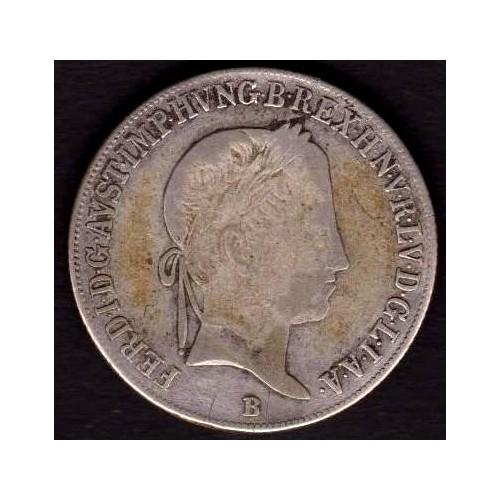 HUNGARY 20 Krajczar 1846 AG