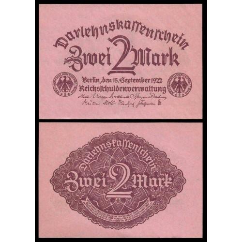 GERMANY 2 Mark 1922