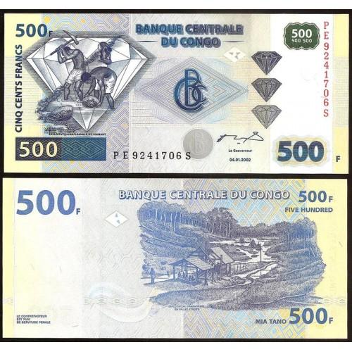CONGO DEMOCRATIC 500 Francs...
