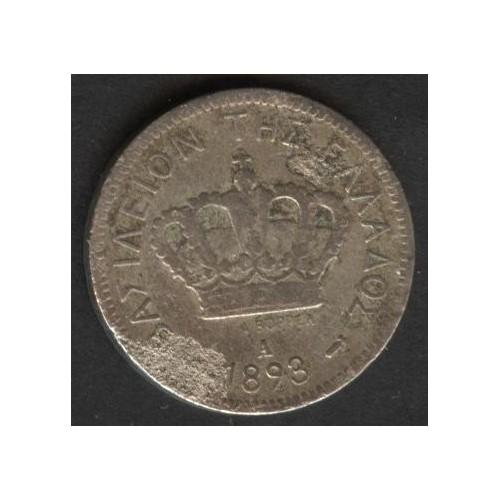 GREECE 20 Lepta 1893