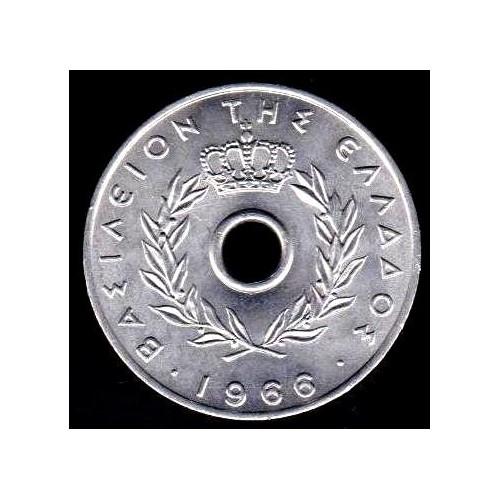 GREECE 10 Lepta 1966