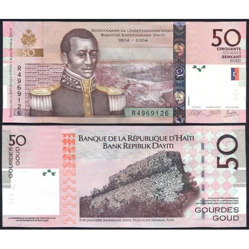 HAITI 50 Gourdes 2013