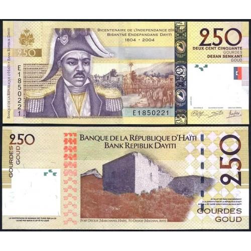 HAITI 250 Gourdes 2013