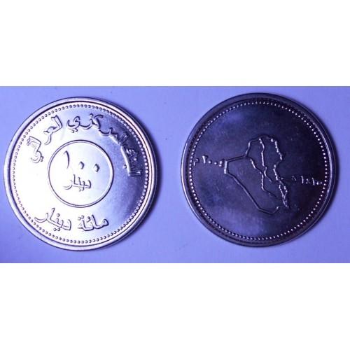 IRAQ 100 Dinars 2004