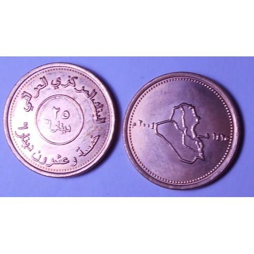 IRAQ 25 Dinars 2004