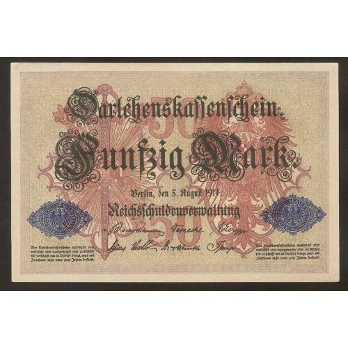 GERMANY 50 Mark 1914