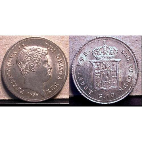 FERDINANDO II CARLINO 1836 AG