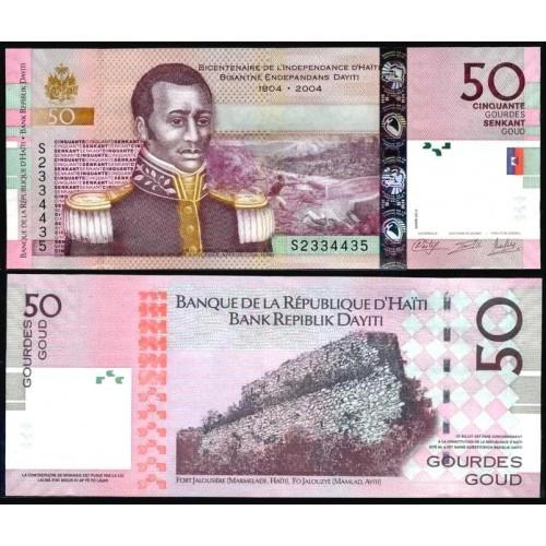 HAITI 50 Gourdes 2014