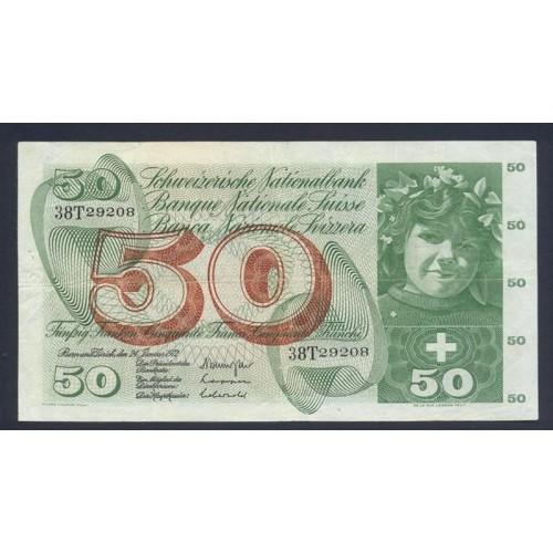 SWITZERLAND 50 Franken 1972