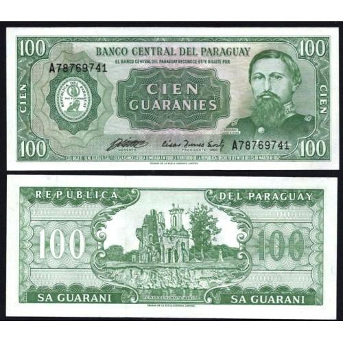 PARAGUAY 100 Guaranies 1982