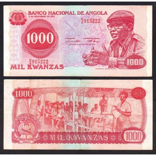ANGOLA 1000 Kwanzas 1979