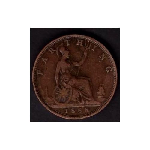 GREAT BRITAIN 1 Farthing 1888