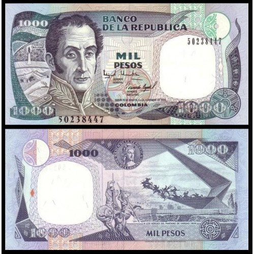 COLOMBIA 1000 Pesos 01.11.1994