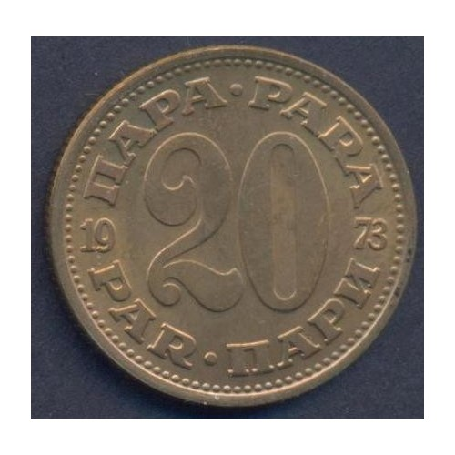 YUGOSLAVIA 20 Para 1973