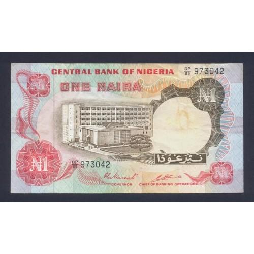 NIGERIA 1 Naira 1973/78