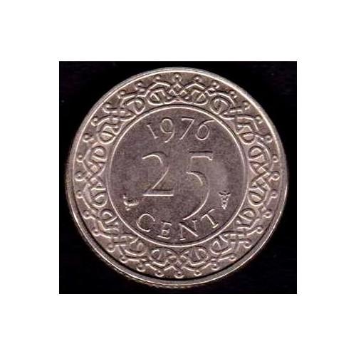 SURINAME 25 Cents 1976