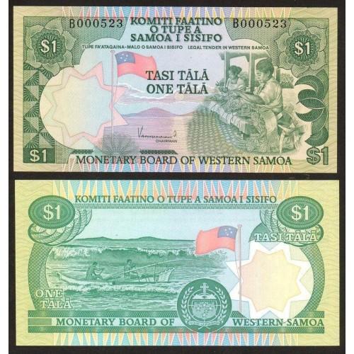 WESTERN SAMOA 1 Tala 1980