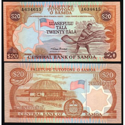 WESTERN SAMOA 20 Tala 1985