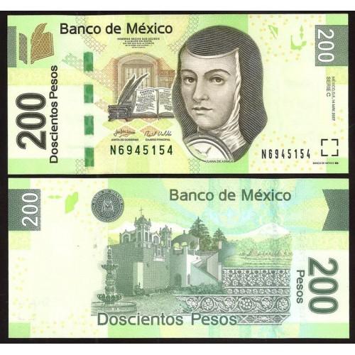 MEXICO 200 Pesos 2007 Serie C
