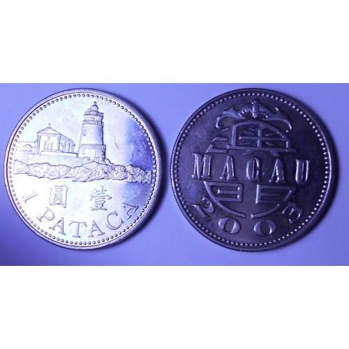 MACAO 1 Pataca 2003
