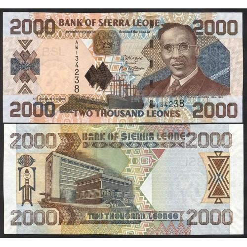 SIERRA LEONE 2000 Leones 2006
