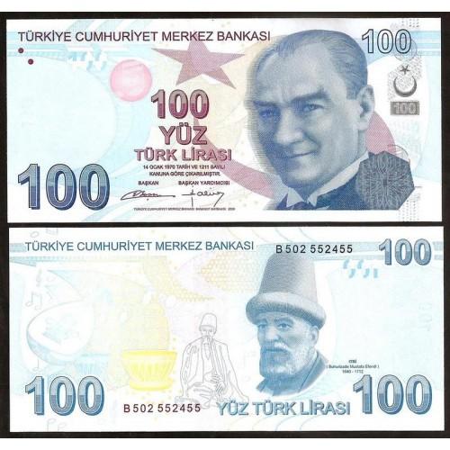 TURKEY 100 Lira 2009 (2012)