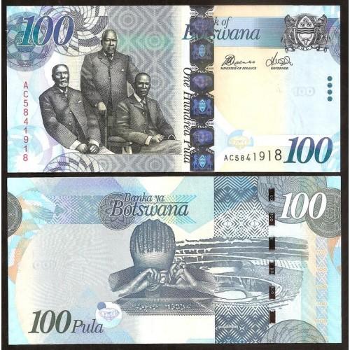 BOTSWANA 100 Pula 2012