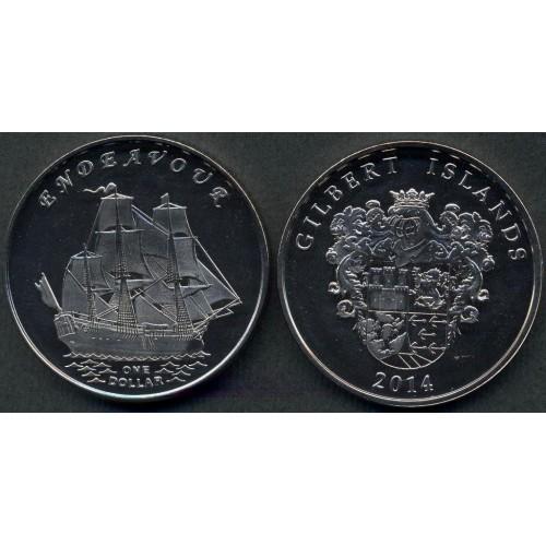 GILBERT ISLANDS 1 Dollar...