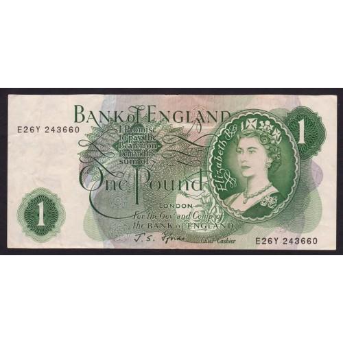 GREAT BRITAIN 1 Pound 1960/77