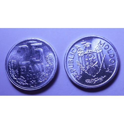 MOLDOVA 25 Bani 2004