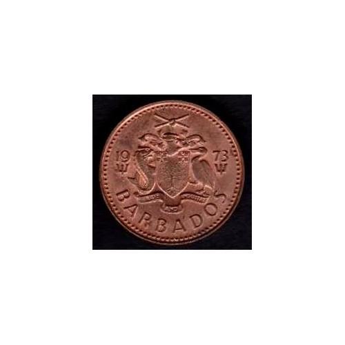 BARBADOS 1 Cent 1973