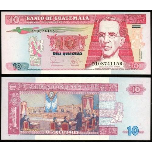 GUATEMALA 10 Quetzales 2006