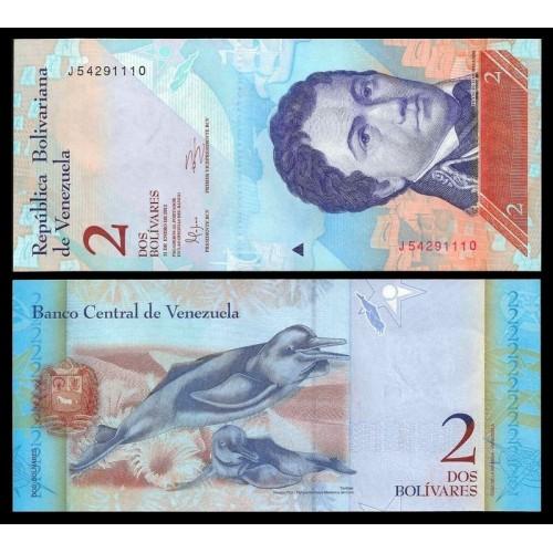 VENEZUELA 2 Bolivares 2012