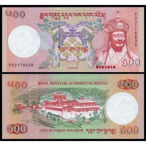BHUTAN 500 Ngultrum 2011