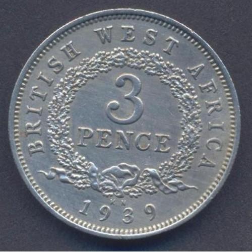 BRITISH WEST AFRICA 3 Pence...