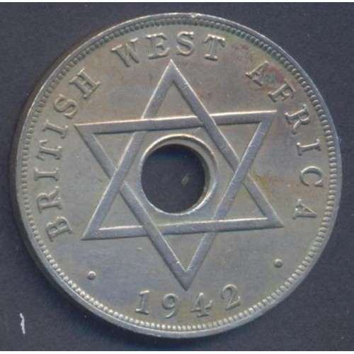 BRITISH WEST AFRICA 1 Penny...