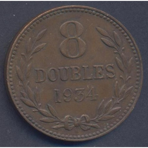 GUERNSEY 8 Doubles 1934