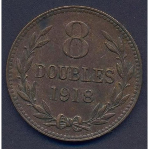 GUERNSEY 8 Doubles 1918