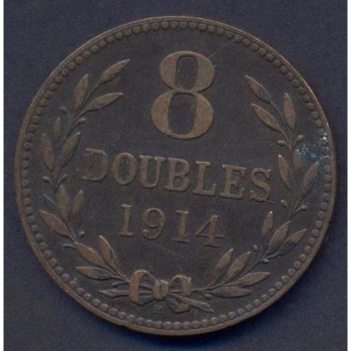 GUERNSEY 8 Doubles 1914