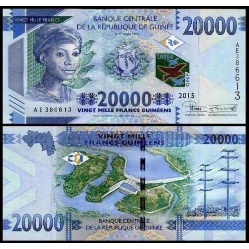GUINEA 20.000 Francs 2015