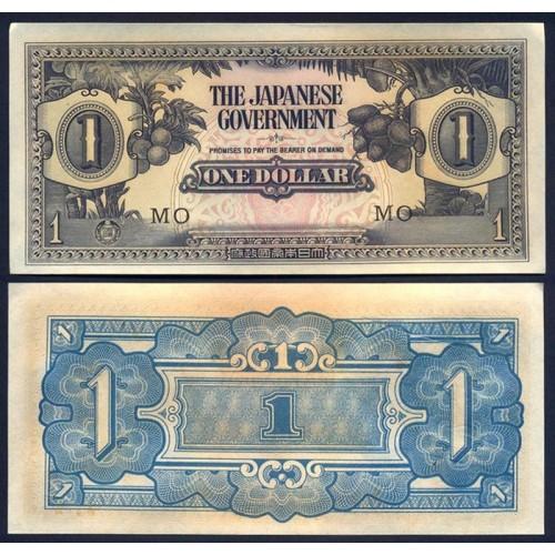 MALAYA 1 Dollar 1942