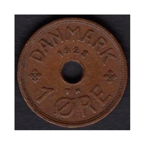 DENMARK 1 Ore 1928