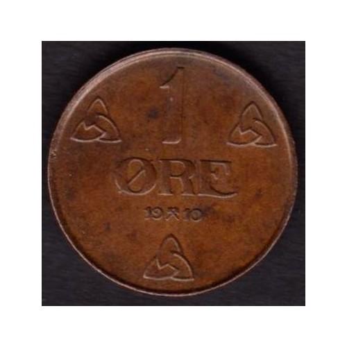 NORWAY 1 Ore 1910