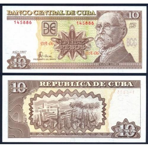 CUBA 10 Pesos 1997