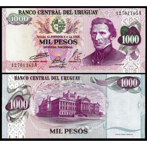 URUGUAY 1000 Pesos 1974