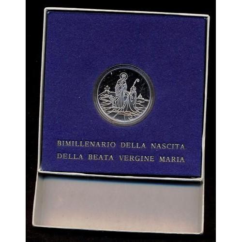VATICANO 500 LIRE 1984 AG...